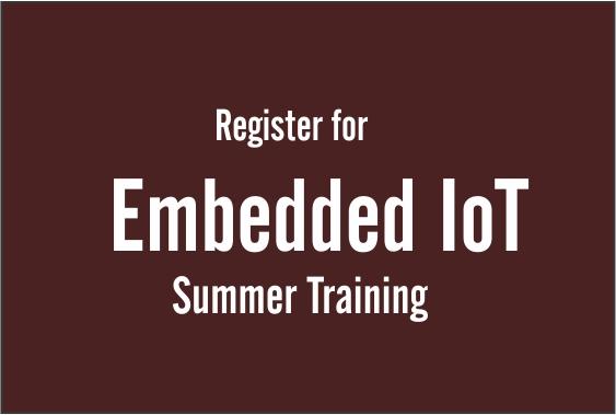 i3indya Embedded Systems IoT (ARM) :: Summer Training
