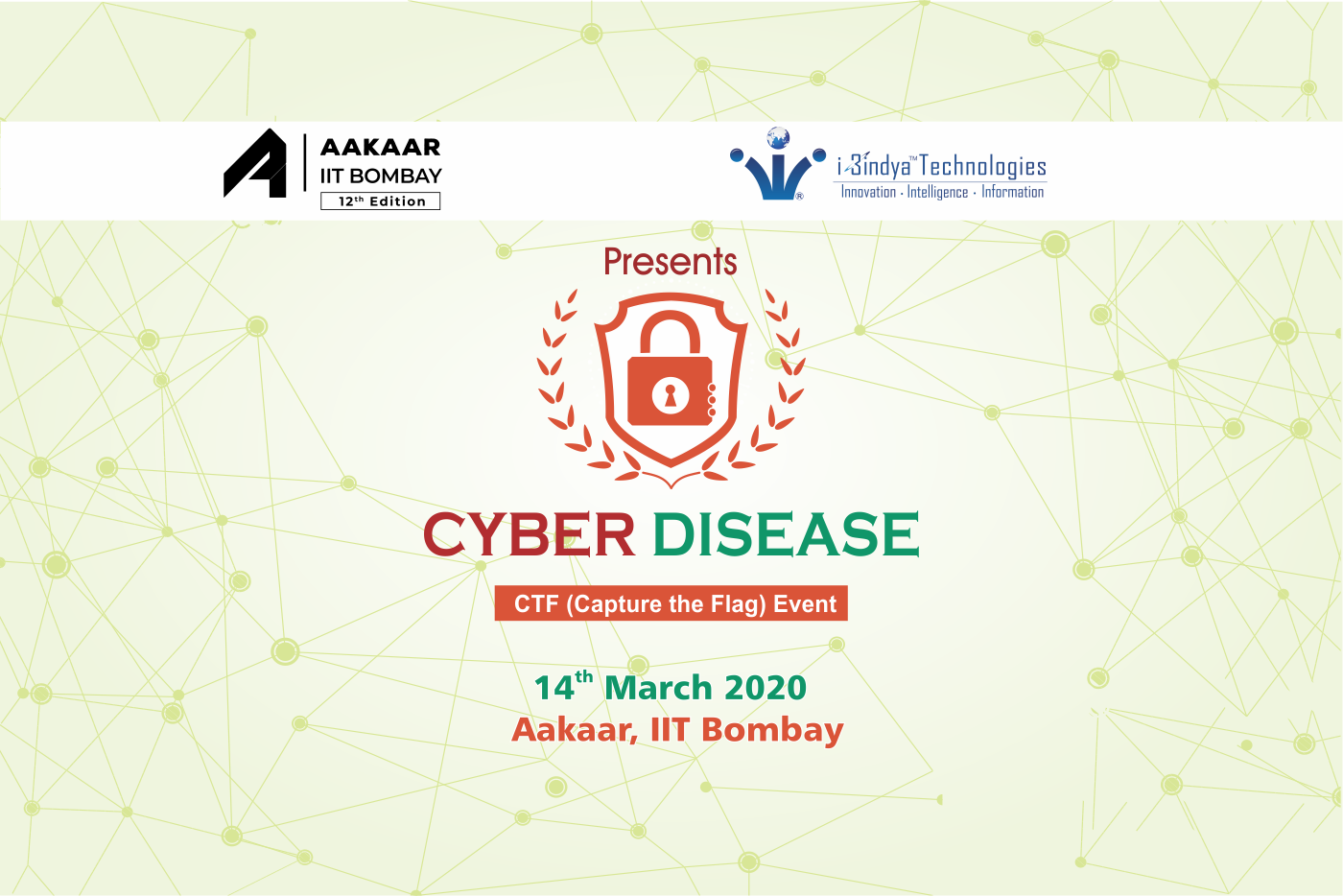 Cyber Disease 2020 - Ethical Hacking CTF Competition by i3indya at